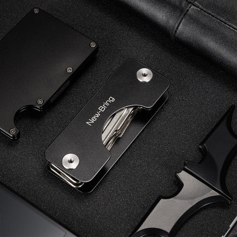 NewBring EDC Men Smart Car Key Wallet Holder