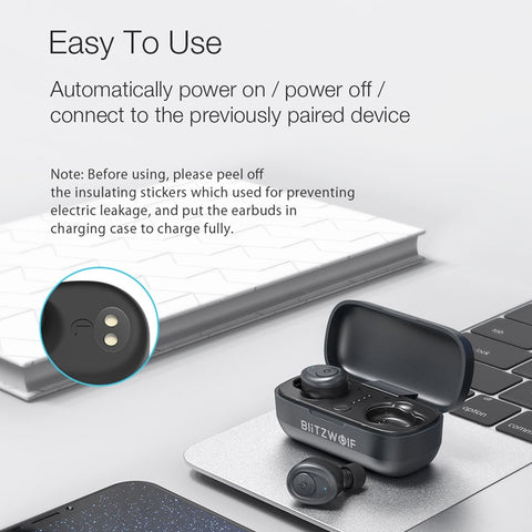 Blitzwolf® True Wireless Earbuds