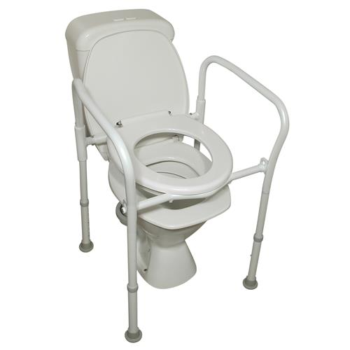 Aluminium Folding Over Toilet Aid - Wheelchair Australia