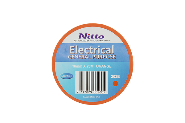 Box (160 rolls) Nitto General Purpose Electrical Tape
