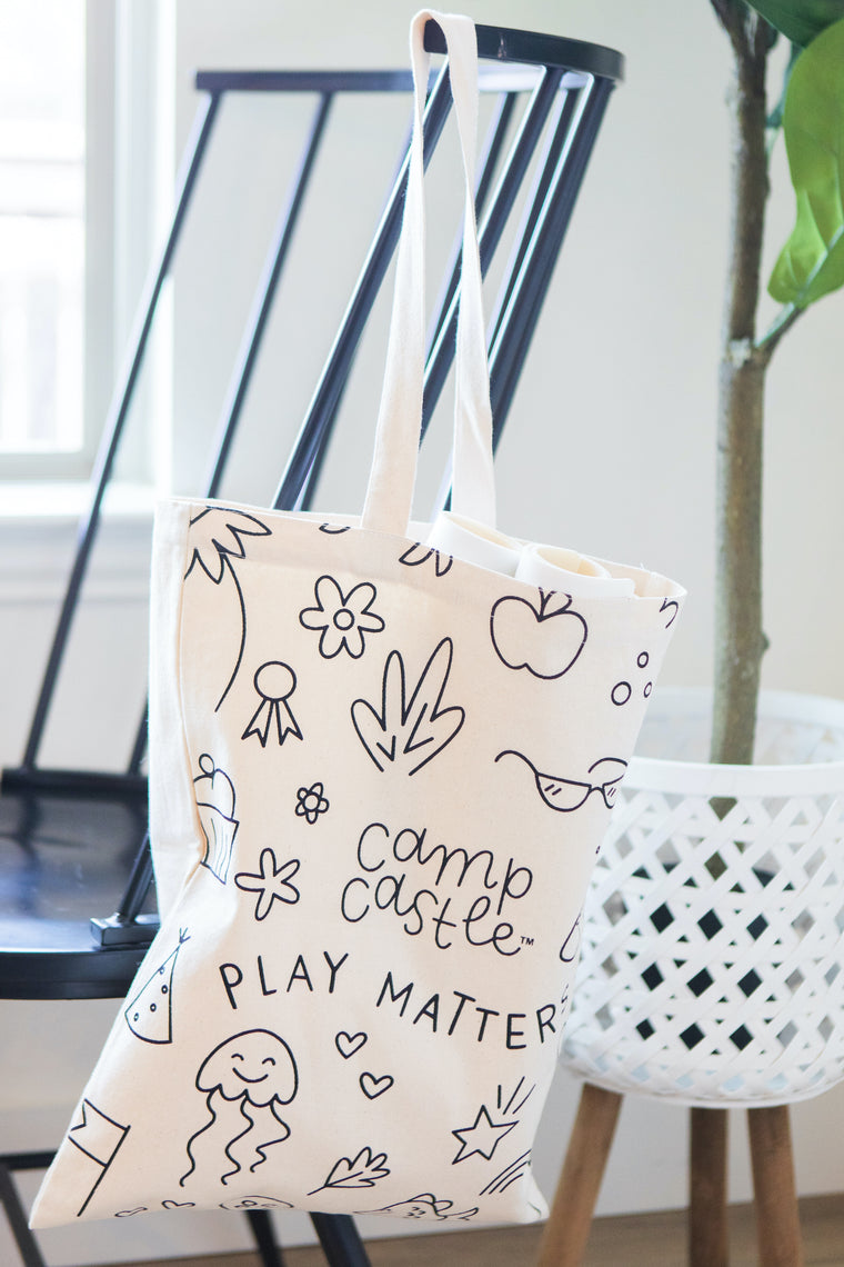 Tote for Mini Play Mats
