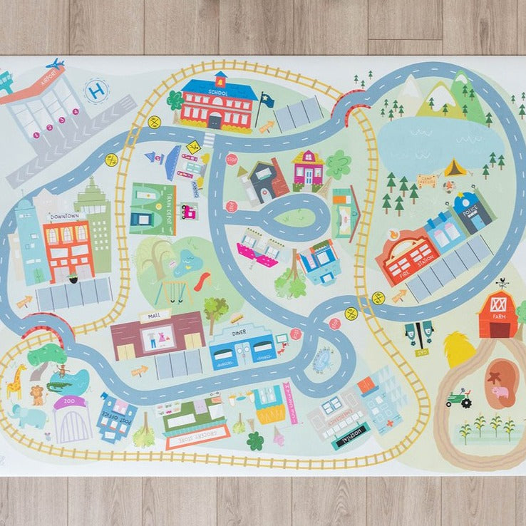 NEW Medium Classic City Play Mat