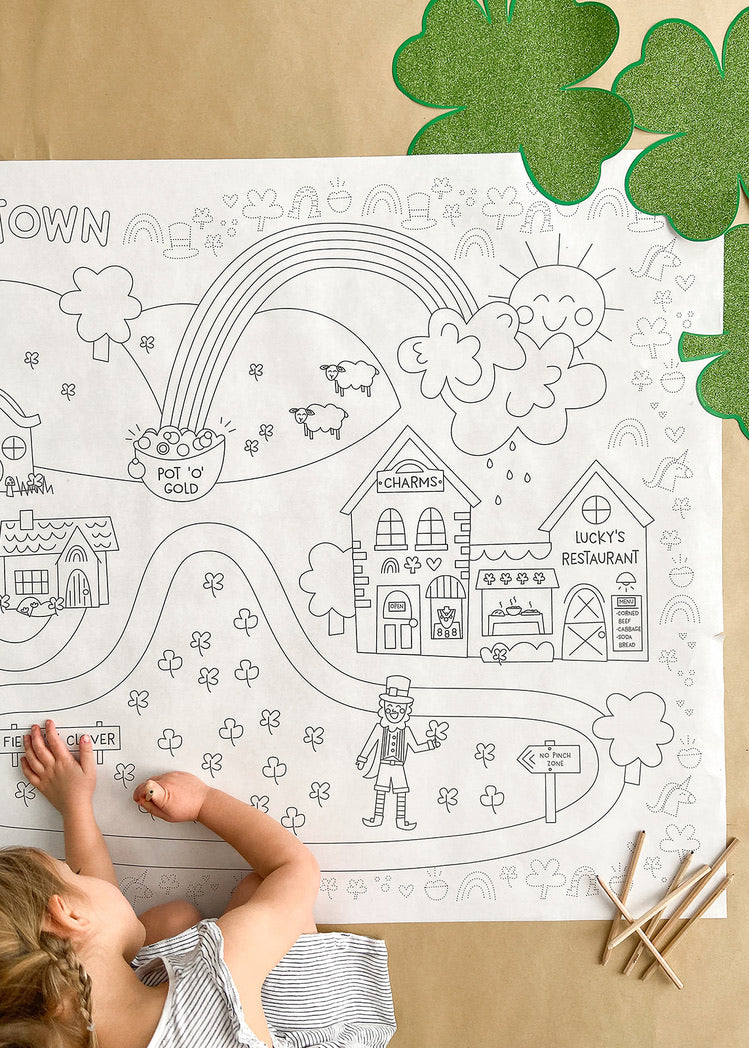 Printable St. Patty's Play Mat *Digital Download*