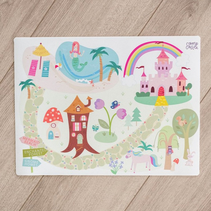 Mini Rainbow Land Play Mat