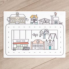 Mini Modern City Play Mat