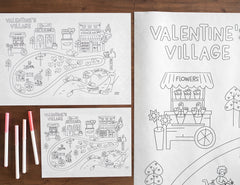 Printable Valentine's Day Play Mat *Digital Download*