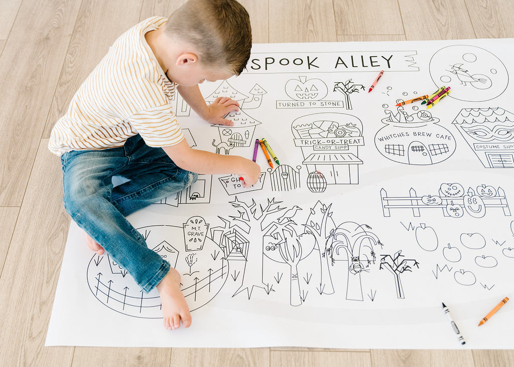 Printable Halloween Play Mat *Digital Download*