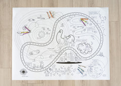 Printable Outer Space Play Mat *Digital Download*