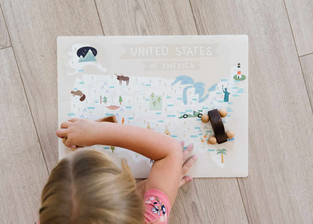 Mini United States Play Mat