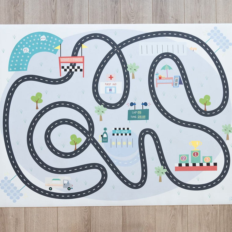 Medium Race Track Play Mat