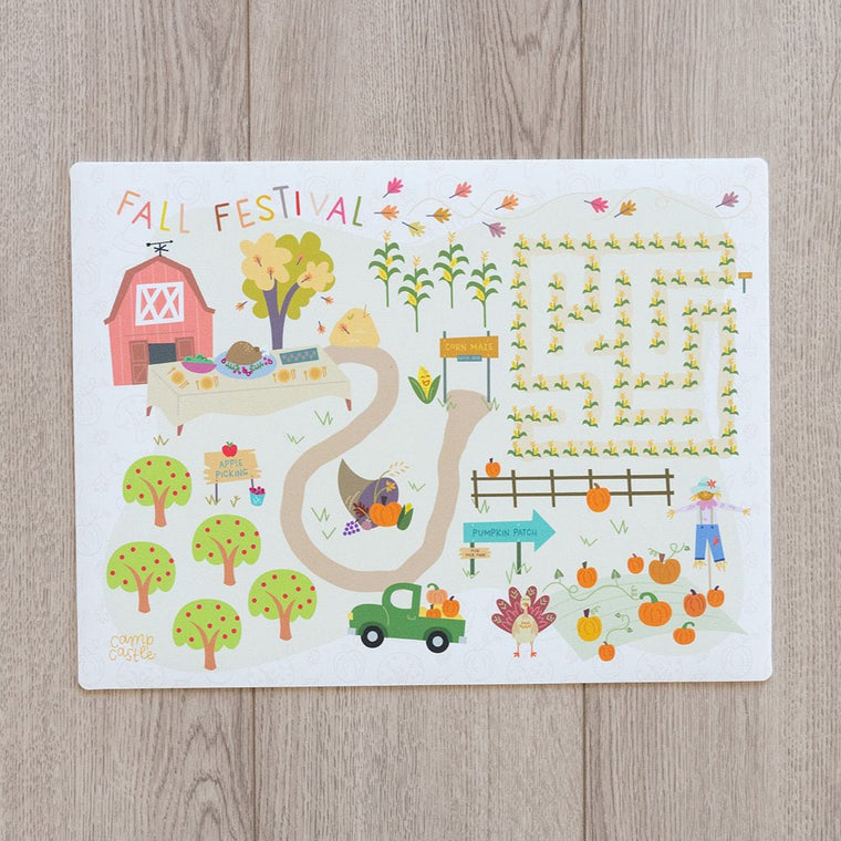 Mini Thanksgiving Play Mat