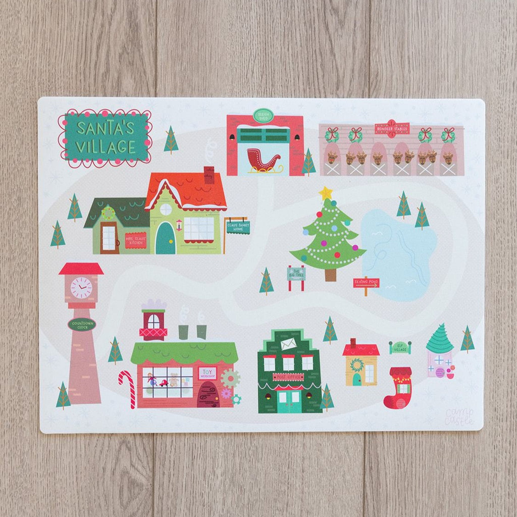 Mini Christmas Play Mat