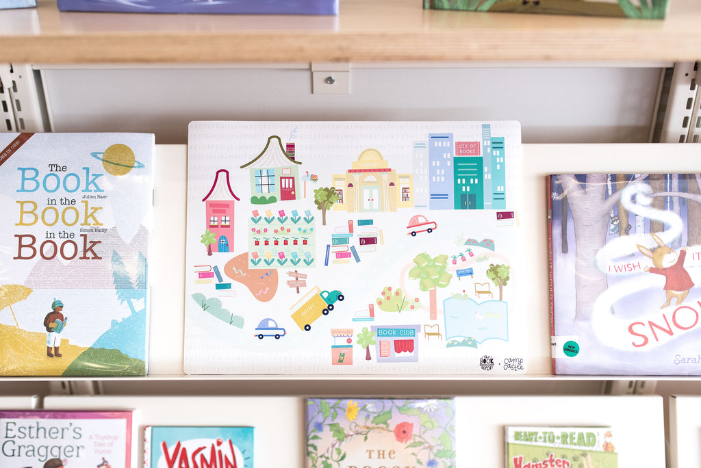 March *Limited Edition* Mini Play Mat - The Book Report - Book City