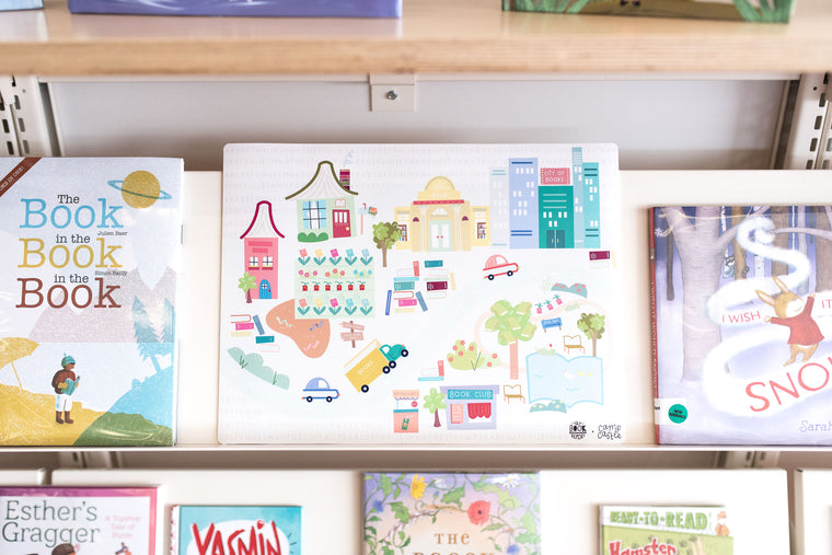 *Limited Edition* Mini Play Mat - The Book Report - Book City