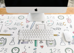 Desk Mat - Back to School