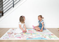NEW Medium Rainbow Land Play Mat