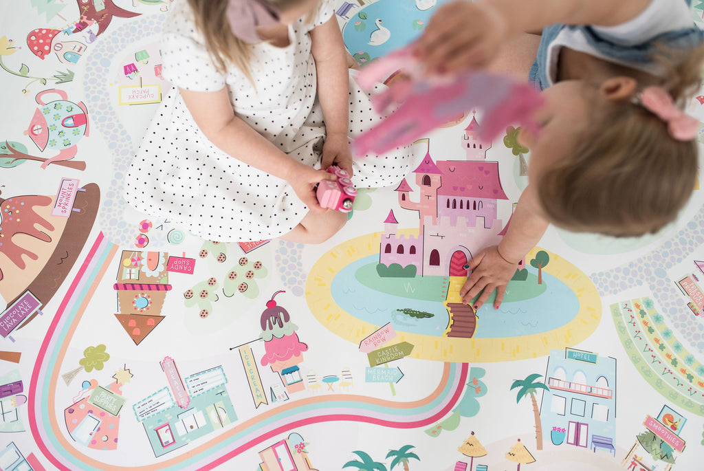 Girls Play Mats