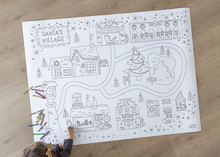 Christmas Printable Play Mat *Digital Download*
