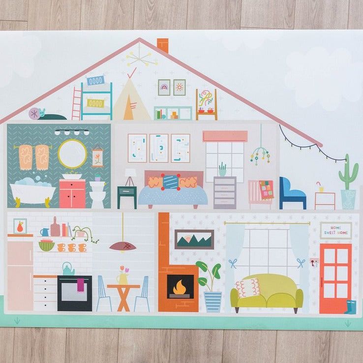 Medium Dollhouse Mat