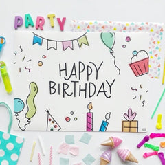 April *Limited Edition* Mini Play Mat - Birthday
