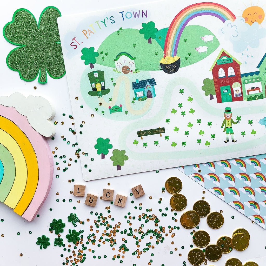 Mini St. Patty's Play Mat