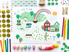 Spring/Summer Holiday Set of Mini Play Mats