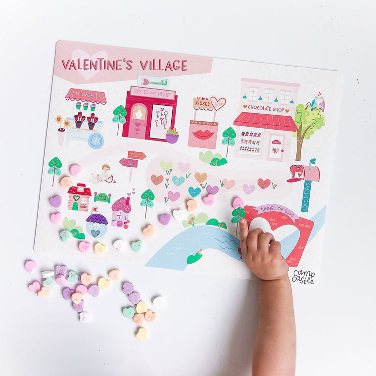 Mini Valentine's Play Mat