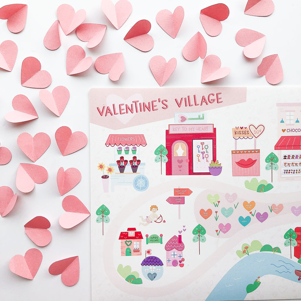 Valentine's Mini Play Mat