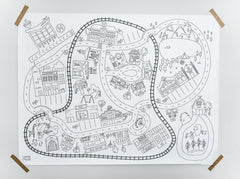 Classic City Printable Play Mats *Digital Download*