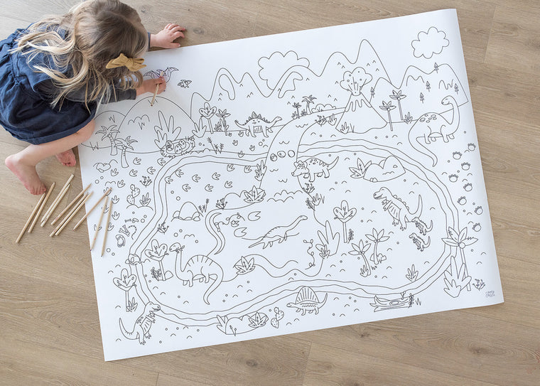 Printable Dino Land  Play Mat *Digital Download*