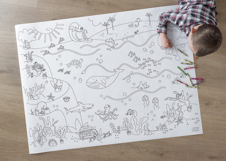 Under the Sea Printable Play Mats *Digital Download*