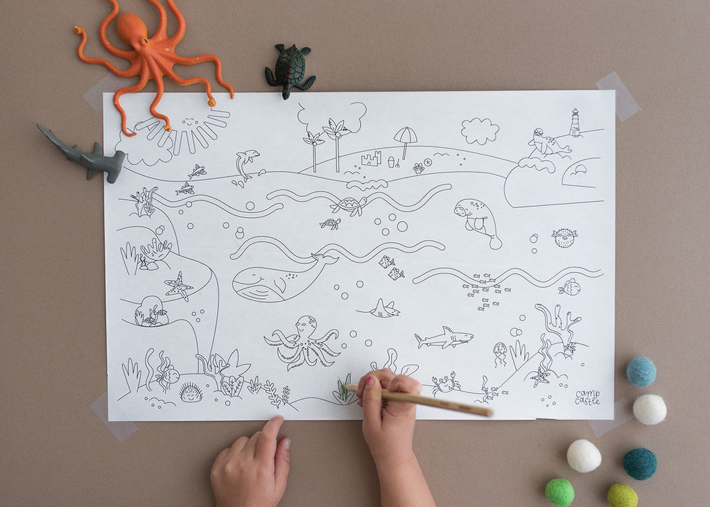 Printable Under the Sea Play Mats *Digital Download*