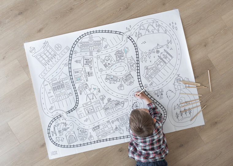 Printable Classic City Play Mat *Digital Download*