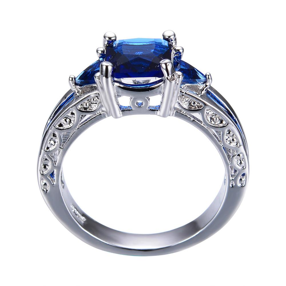 rings sapphire band stone september awesome wedding new engagement birthstone diamond of natural