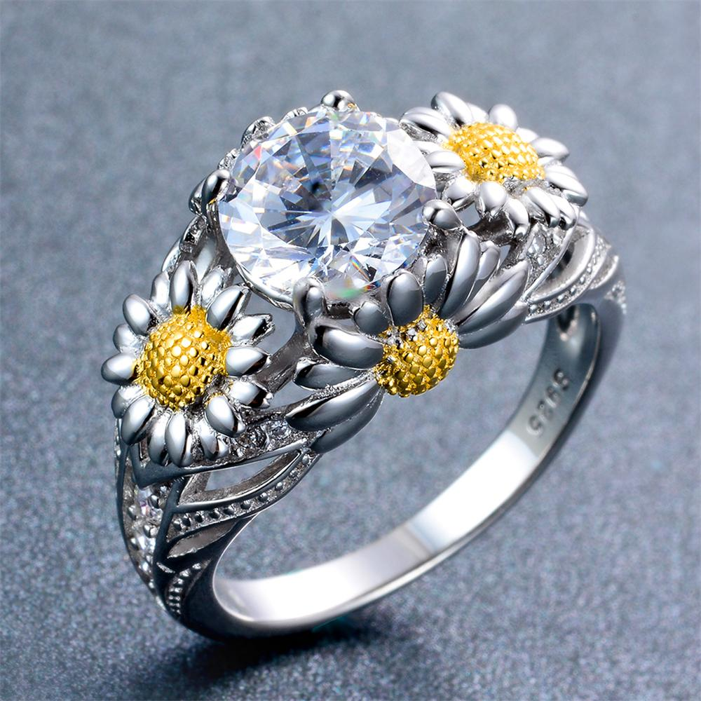 jewelry rings diamond custom keezing engagement daisy ring gallery kreations