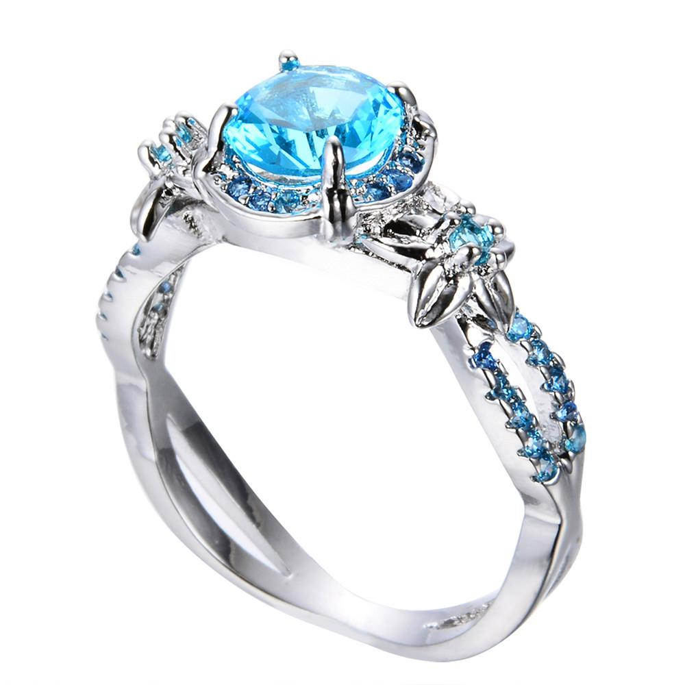 diamond rings and birthstone ring wedding white gold jewelry december topaz amazon dp oval blue com
