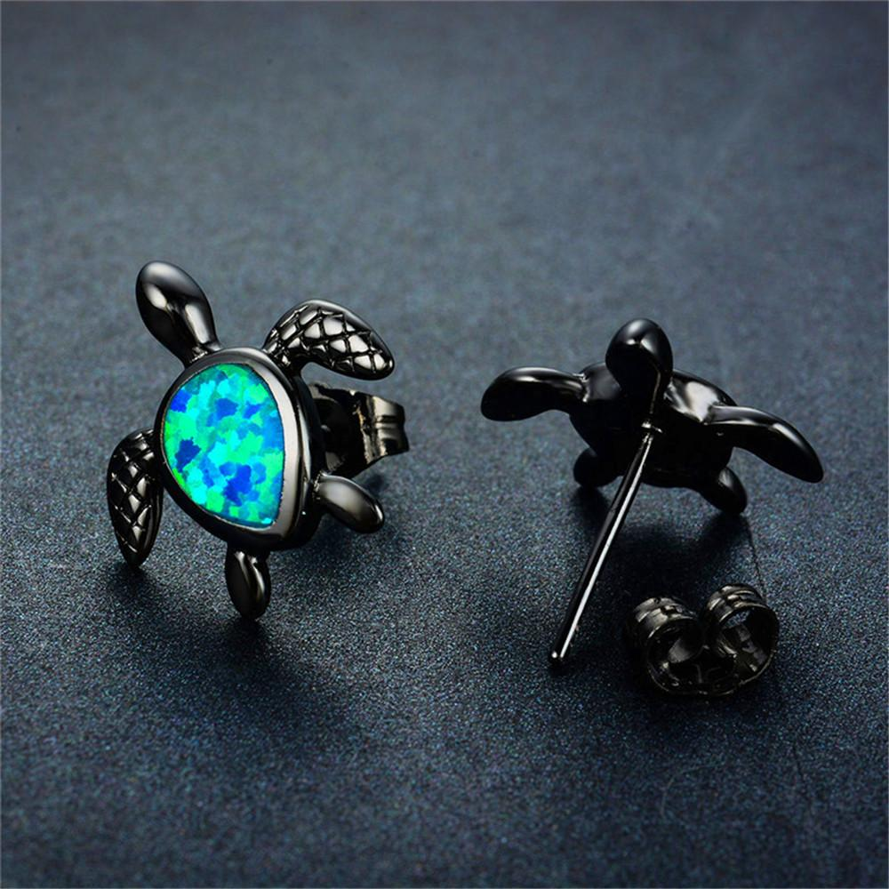 original earrings sea in products plus animal dotoly stud rose tortoise turtle gold cute