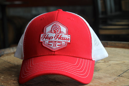 "Red/White ""On Wisconsin"" Hat"