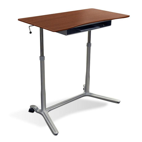 Unique Furniture - 204 - HEIGHT ADJUSTABLE SIT STAND DESK -  Unique Furniture - Standing Desk - Desk Converter