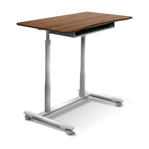 Unique Furniture - 205 - MOBILE STAND UP DESK HEIGHT ADJUSTABLE -  Unique Furniture - Standing Desk - Desk Converter