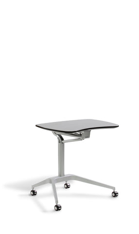 Unique Furniture - 208 - LAPTOP CART HEIGHT ADJUSTABLE DESK -  Unique Furniture - Standing Desk - Desk Converter