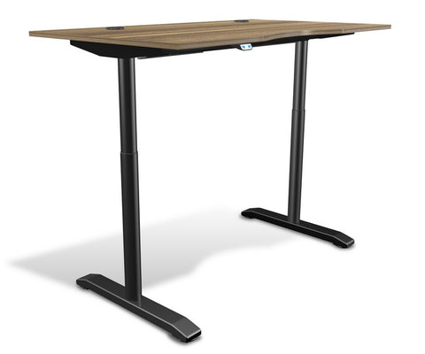 "Unique Furniture 100 Collection Electric Height Adjustable Standing Desk 55"" - 75532 -  Unique Furniture - Standing Desk - Desk Converter"