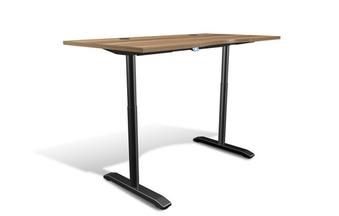 "Unique Furniture 100 Collection Electric Height Adjustable Standing Desk 65"" - 76432 -  Unique Furniture - Standing Desk - Desk Converter"