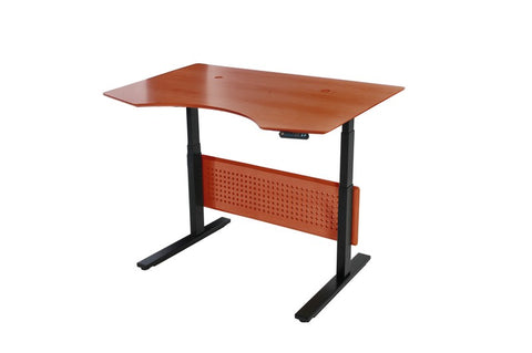 "Unique Furniture - Prestige Sit-Stand Collection Electric Height Adjustable Standing Desk 51"" - 75137 -  Unique Furniture - Standing Desk - Desk Converter"