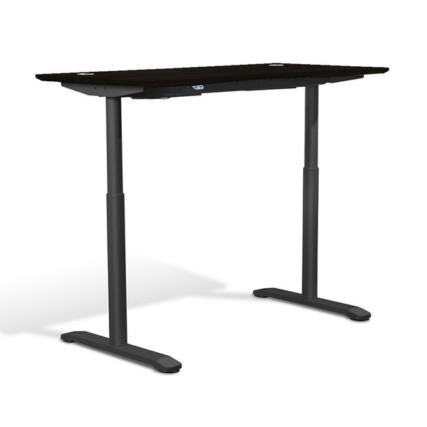 "Unique Furniture Value Electric Height Adjustable Standing Desk 55"" - 75527 -  Unique Furniture - Standing Desk - Desk Converter"