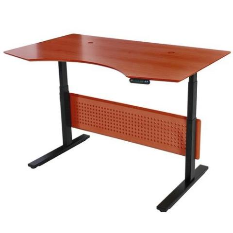 "Unique Furniture Prestige Sit-Stand Collection Electric Height Adjustable Standing Desk 63"" - 76339 -  Unique Furniture - Standing Desk - Desk Converter"