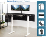 "Standing Health - VIVO Electric 60"" x 24"" Stand Up Desk 