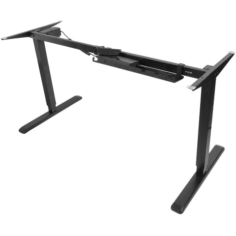 Standing Health - VIVO Electric Stand Up Desk Frame Single Motor Standing Height Adjustable - DESK-V102E -  Vivo - Standing Desk - Desk Converter