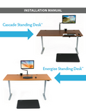 Standing Health - iMovR - Energize Compact Standing Desk - EGFDb-REA2447s-T -  iMovR - Standing Desk - Desk Converter