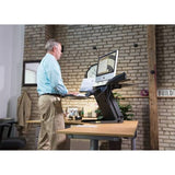 Healthpostures 6100 TaskMate Executive Standing Desk -  Health Postures - Standing Desk - Desk Converter